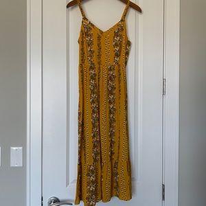 Old Navy Floral Midi Dress NWT